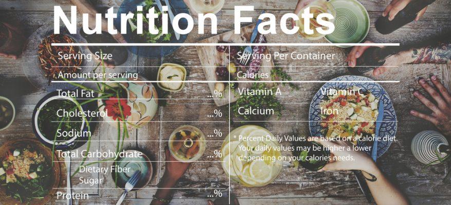 Valore nutrizionale alimenti